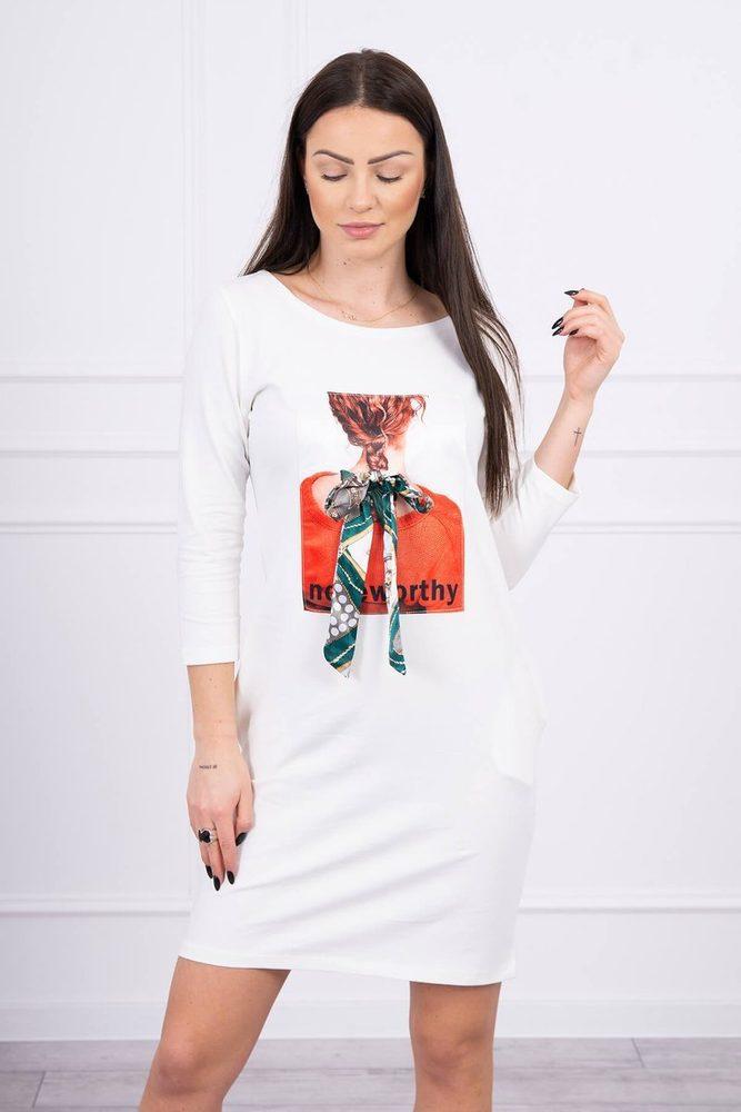 Volnočasové šaty - S/M Kesi ks-sa66814cr