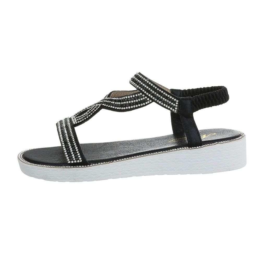 Dámske sandále čierné - 36 EU shd-osa1291bl