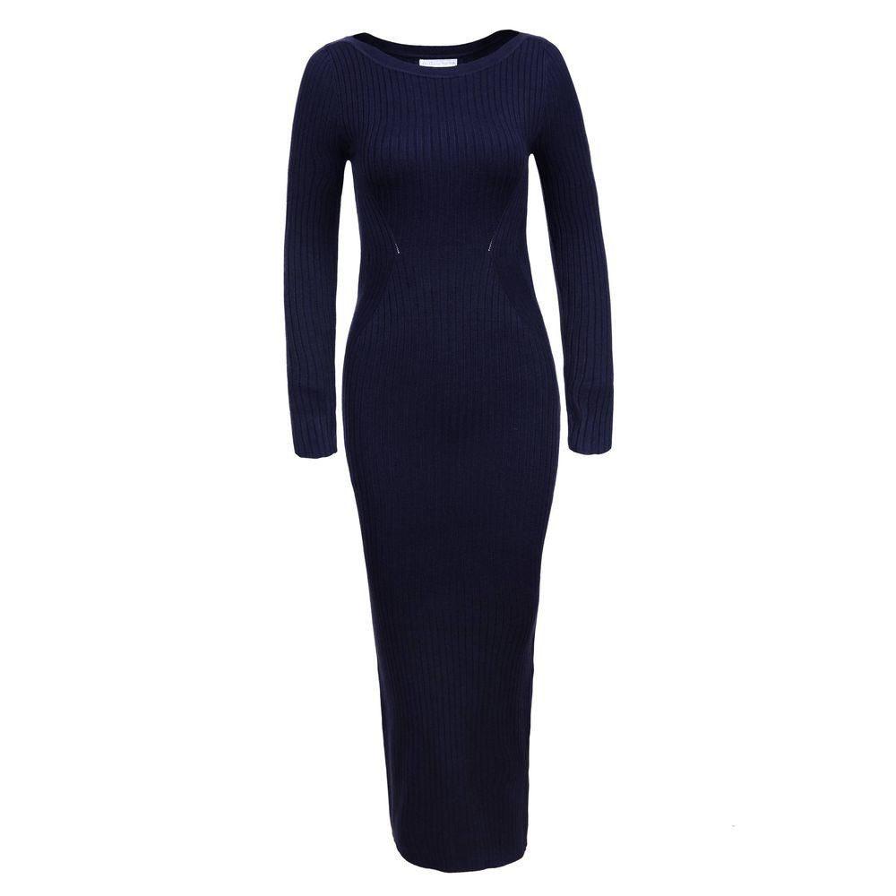 Dámské úpletové šaty - S/M EU shd-sat1254tm