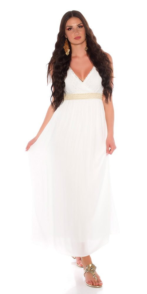 Letní dlouhé šaty Koucla in-sat2216wh