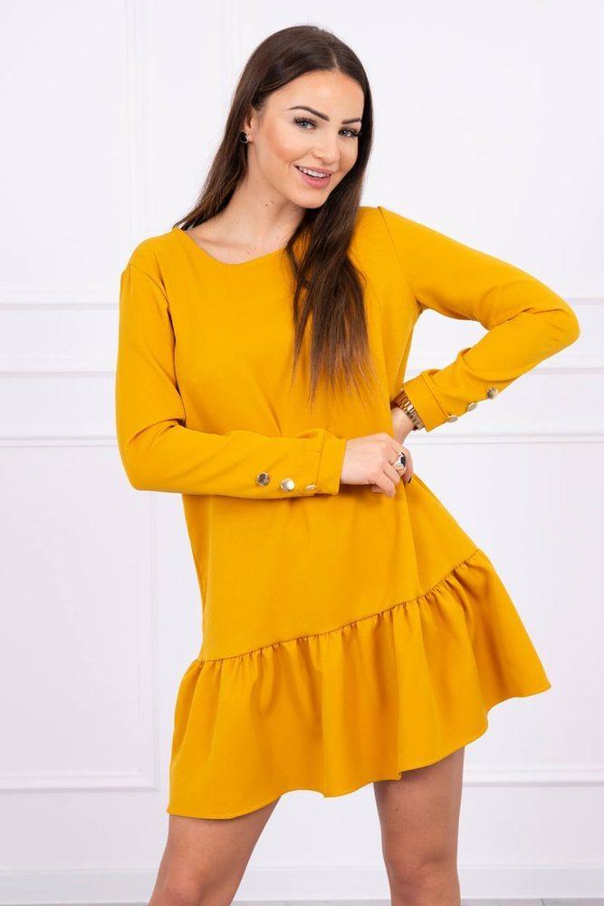 Dámské šaty s volánem Kesi ks-sa66188ge