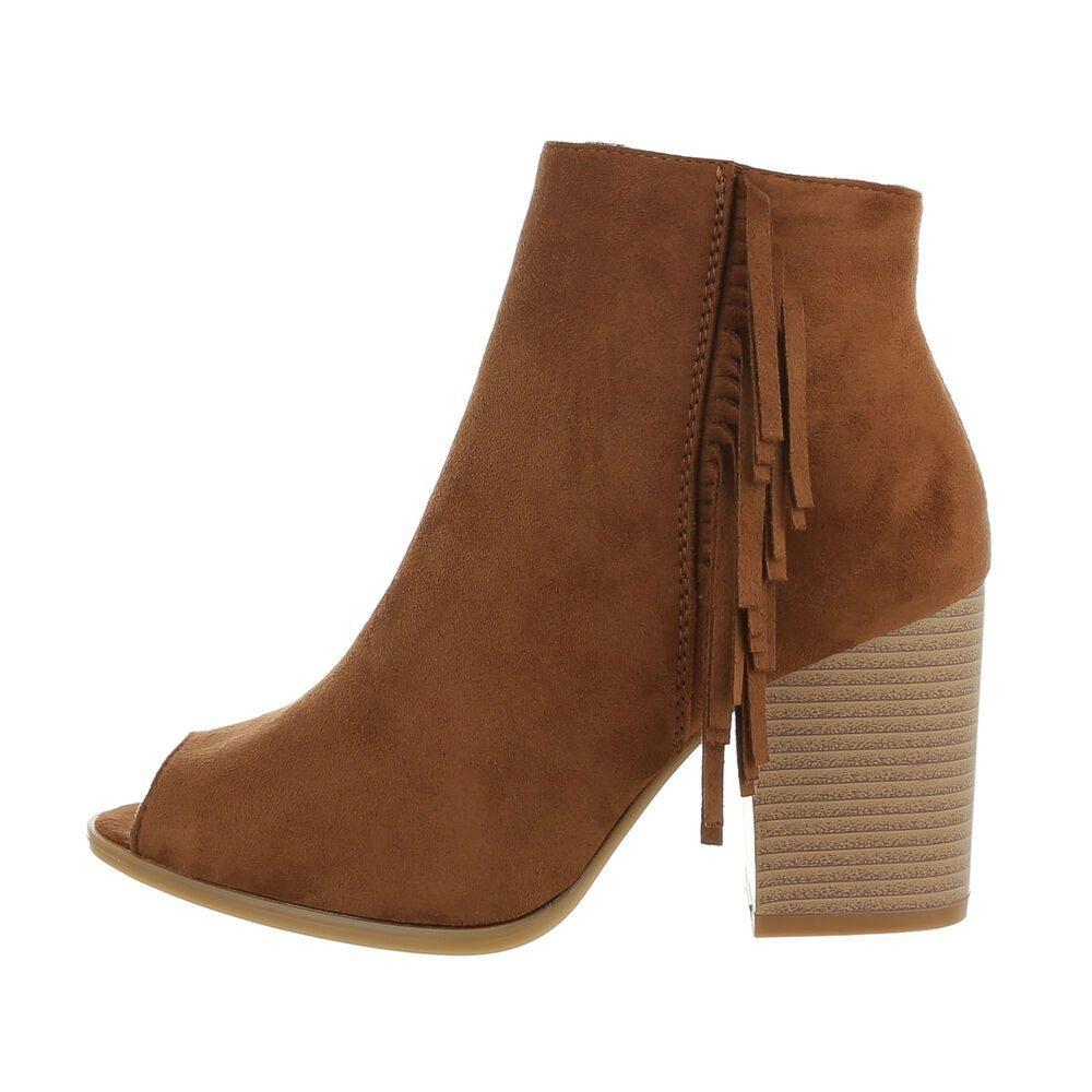 Kotníková obuv na podpatku - 39 EU shd-okk1444ca