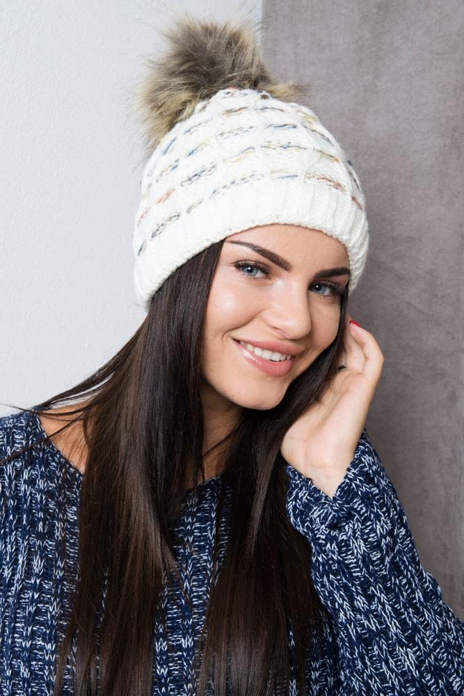 Zimná dámska čiapka Kesi ks-ce86cr