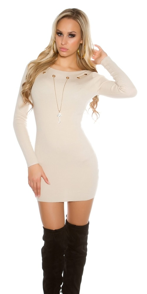 Elegantné šaty z úpletu Koucla in-sat1468be