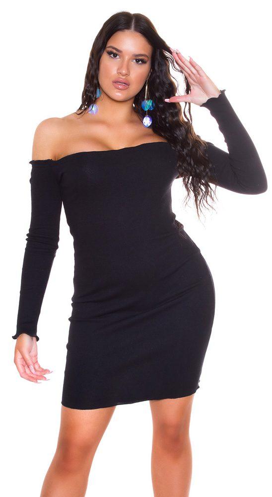 Dámské mini šaty - S/M Koucla in-sat2273bl