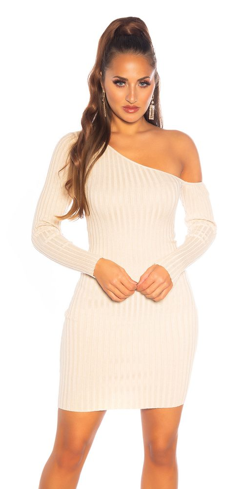 Dámské úpletové šaty - S/M Koucla in-sat2253be