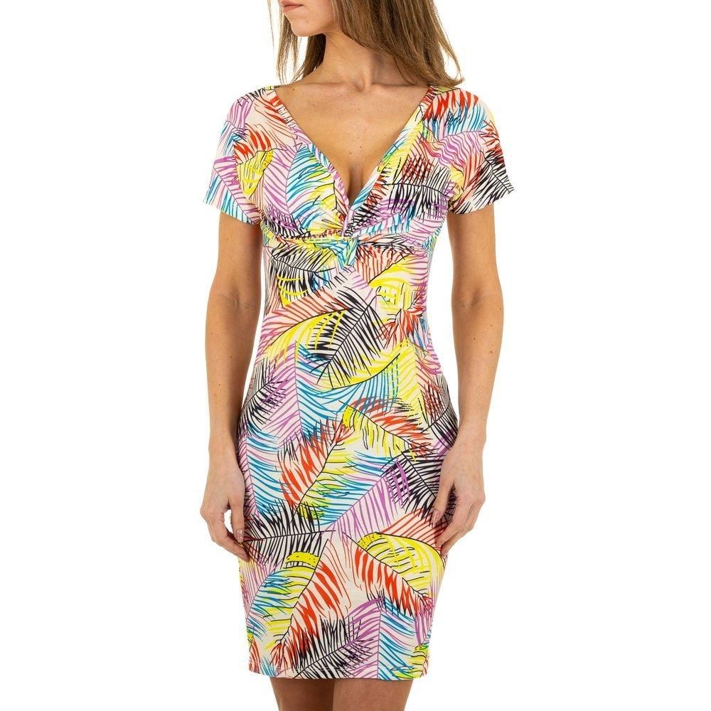 Letní šaty s potiskem EU shd-sat1079ge
