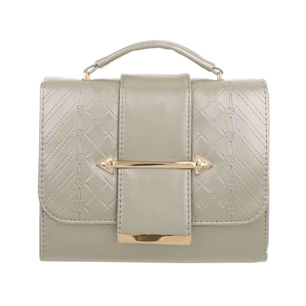 Dámská kabelka do ruky zlatá sh-ta1101go