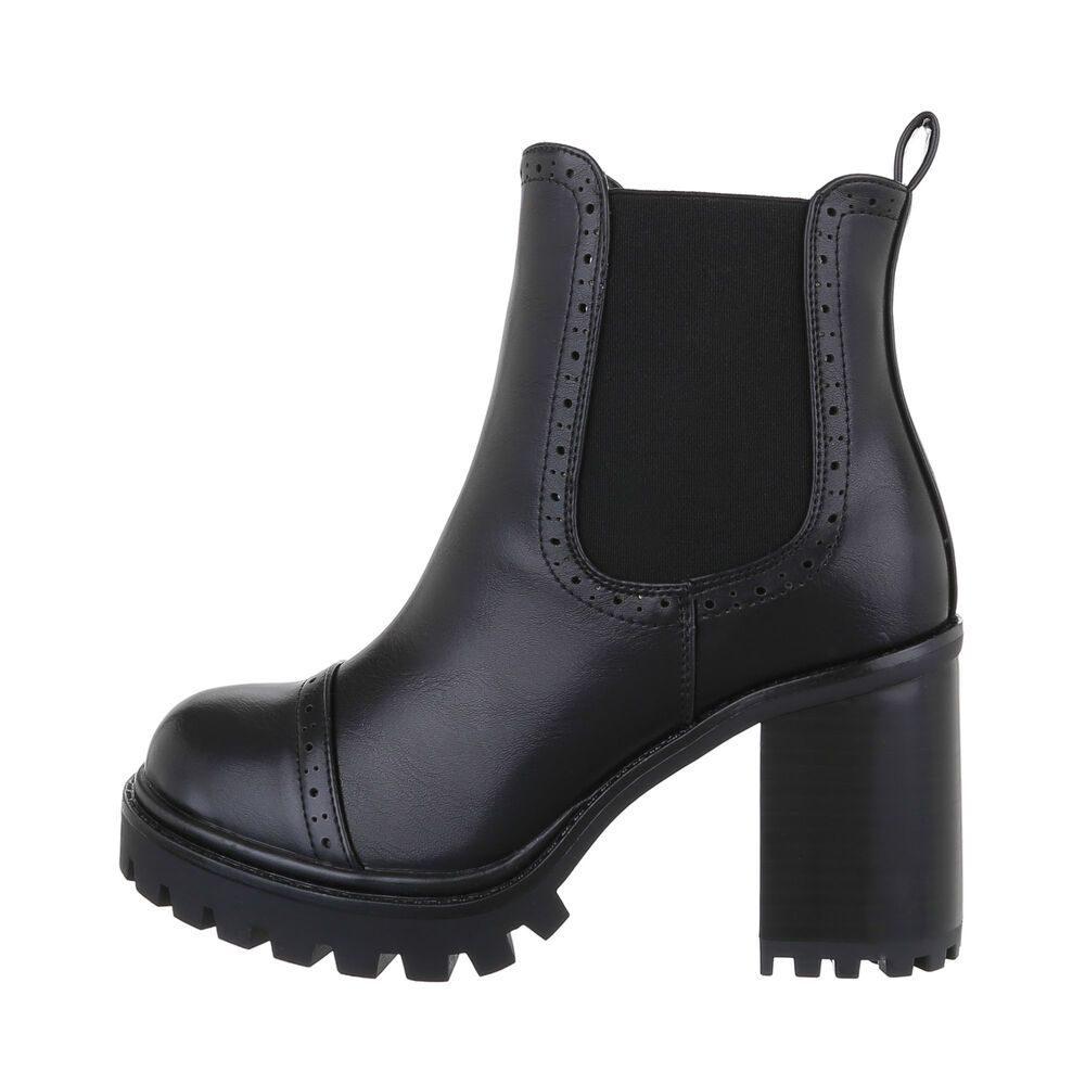 Kotníková obuv dámská - 39 EU shd-okk1443bl