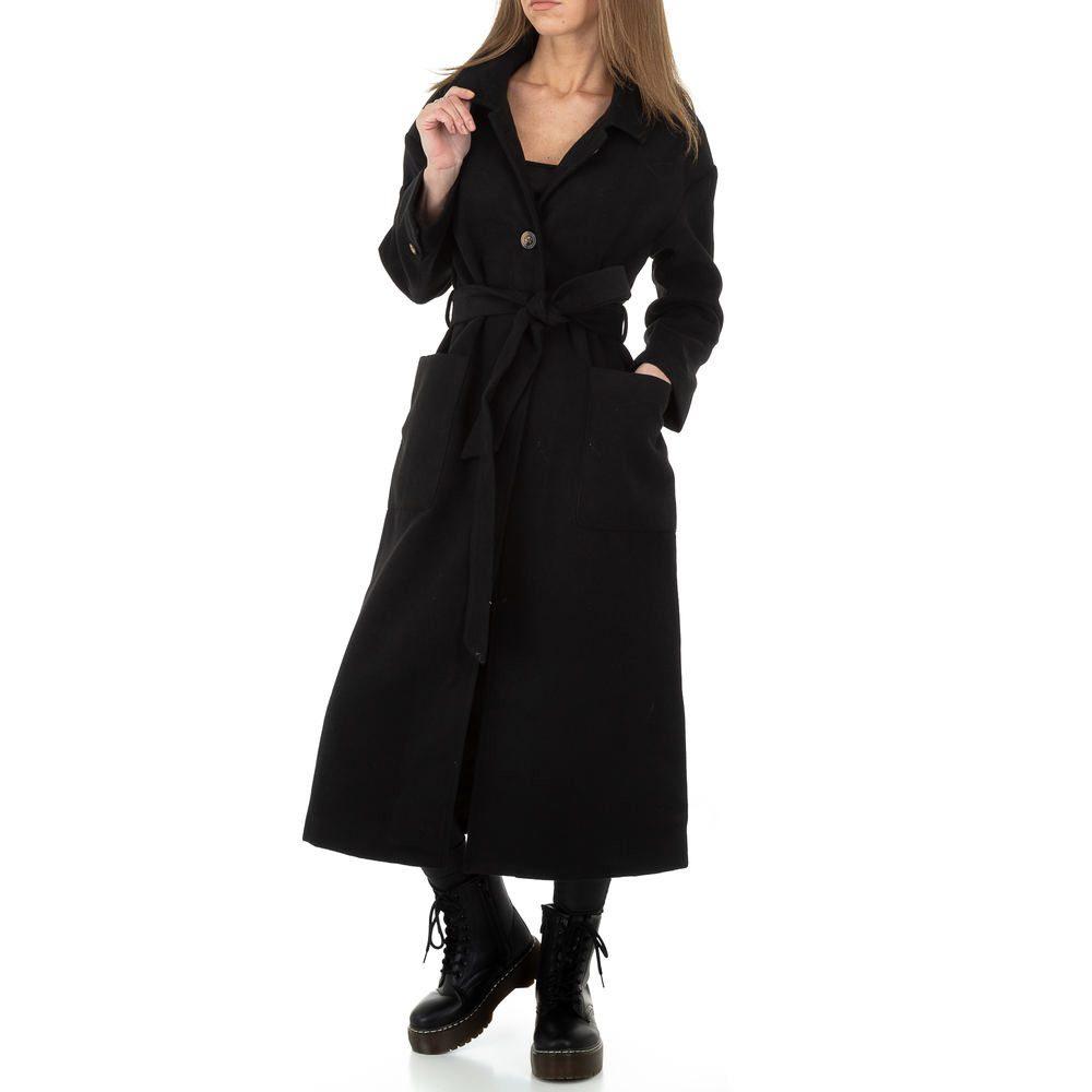 Dámský podzimní kabát - XL/42 EU shd-bu1283bl