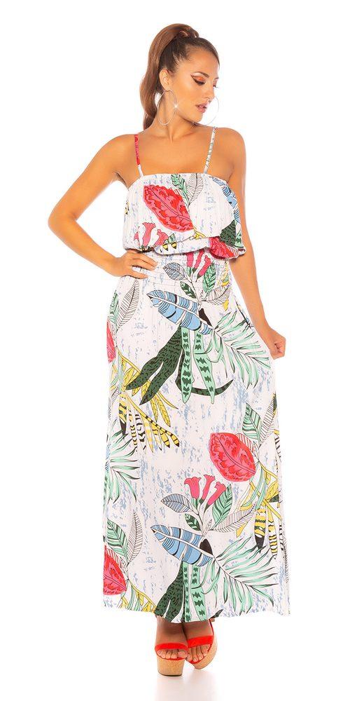 Dámské letní šaty Koucla in-sat2225wh