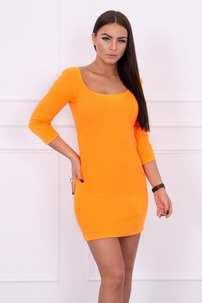 Neónové dámske šaty - S/M Kesi ks-sa8973no