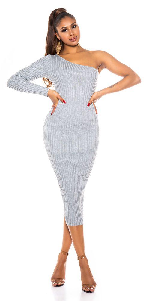 Úpletové dámské šaty Koucla in-sat2265gr