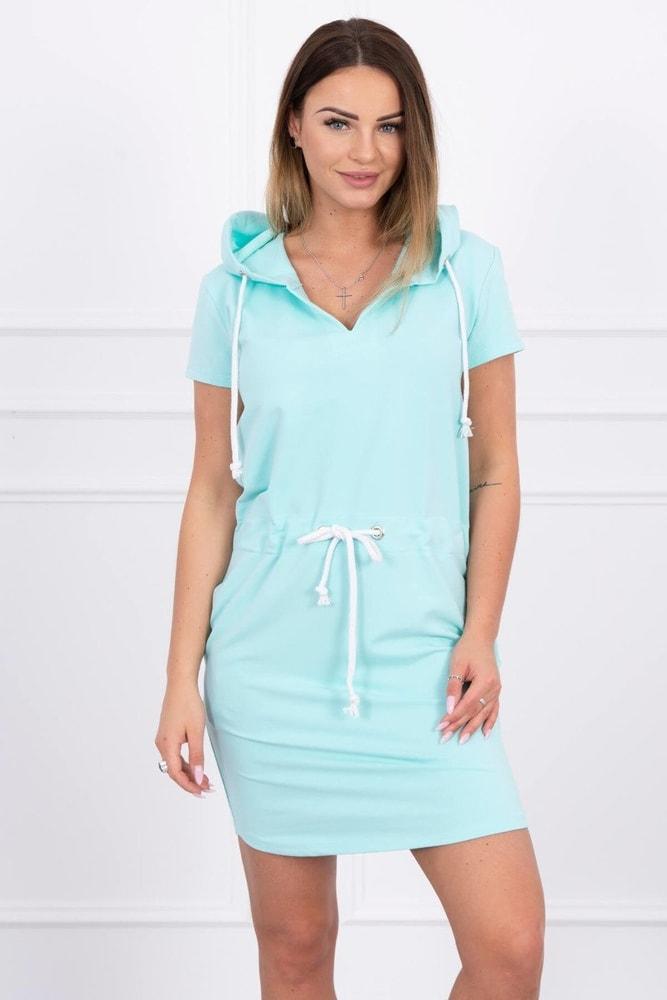 Dámske šaty s kapucňou Kesi ks-sa8982mi