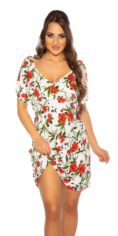 Dámské letní šaty Koucla in-sat2182wh