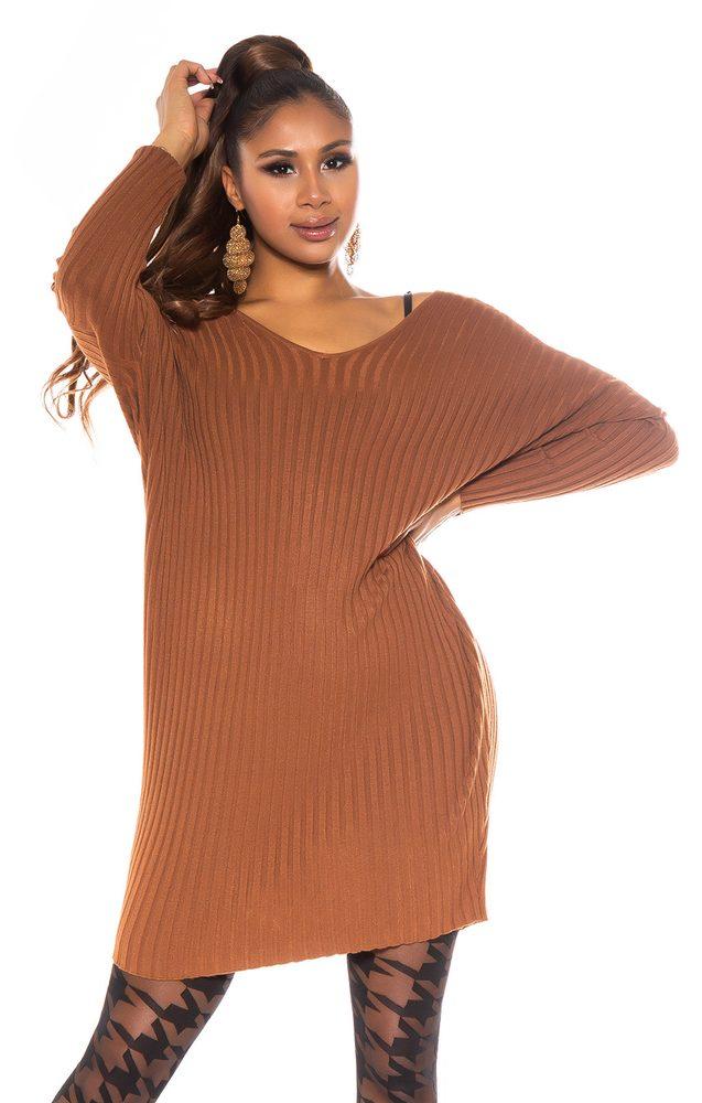 Pletené šaty oversize Koucla in-sat2266hn