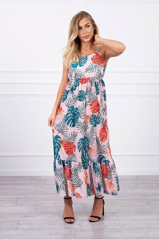 Dlouhé letní šaty Kesi ks-sa9282pi