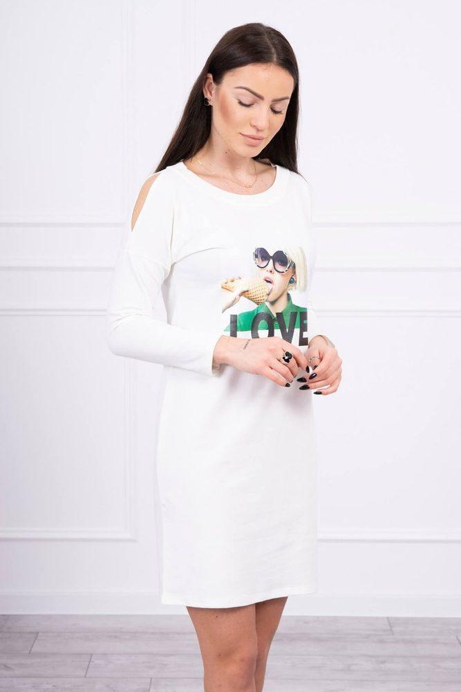 Dámské volnočasové šaty - S/M Kesi ks-sa66857cr