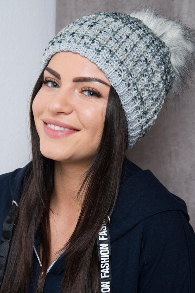 Zimná dámska čiapka Kesi ks-ce85sg