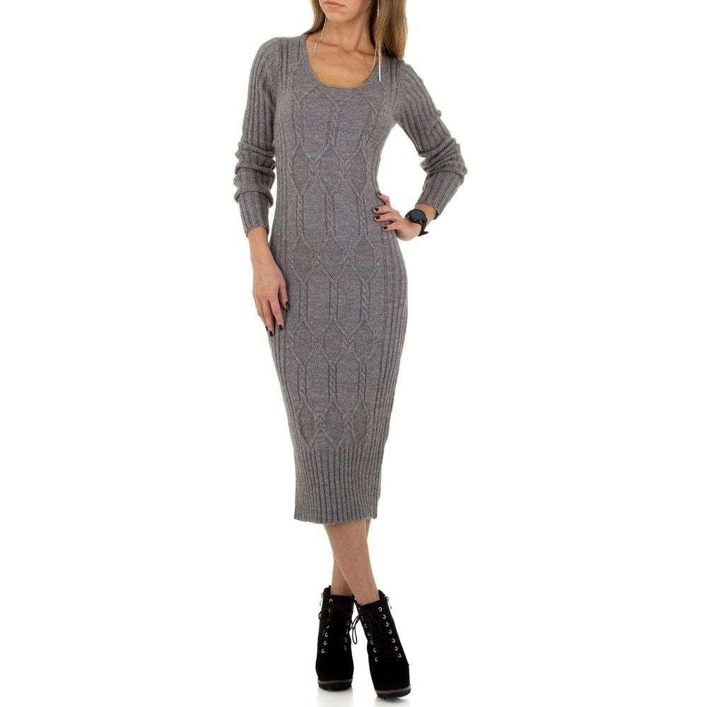 Pletené dámské šaty EU shd-sat1120gr