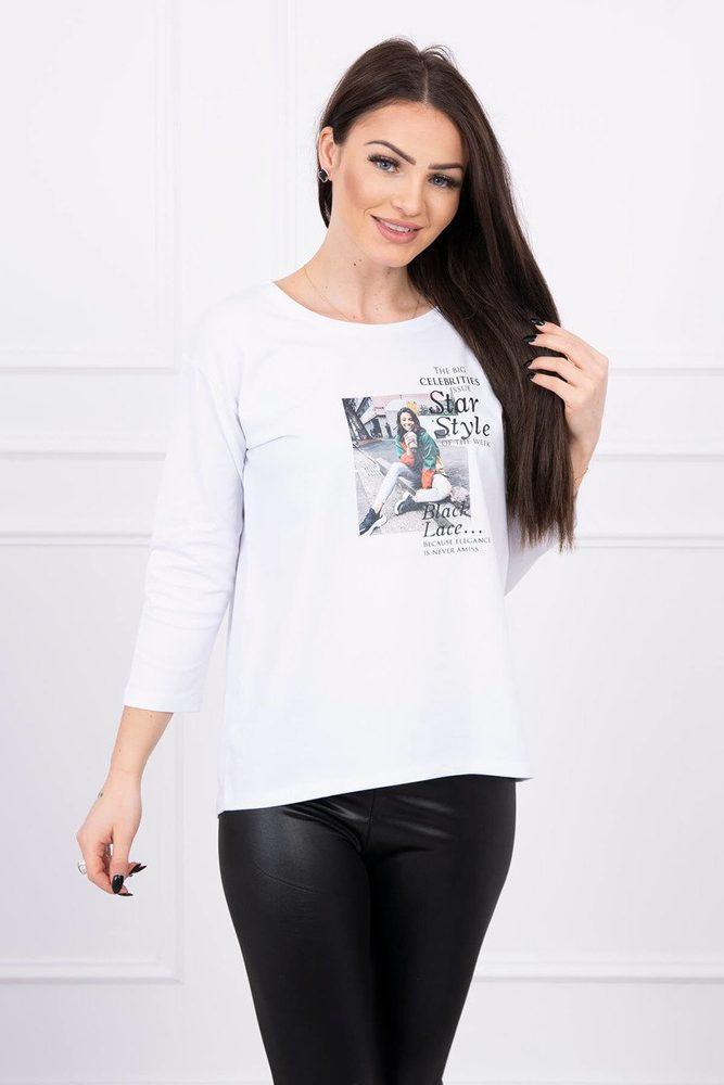 Dámské tričko - Uni Kesi ks-tr66850wh