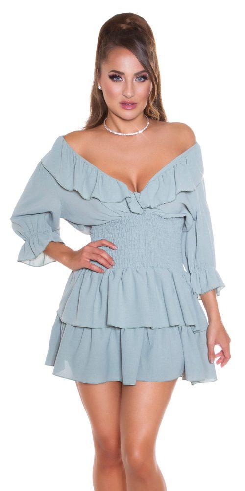 Dámské letní mini šaty - S/M Koucla in-sat2274kh