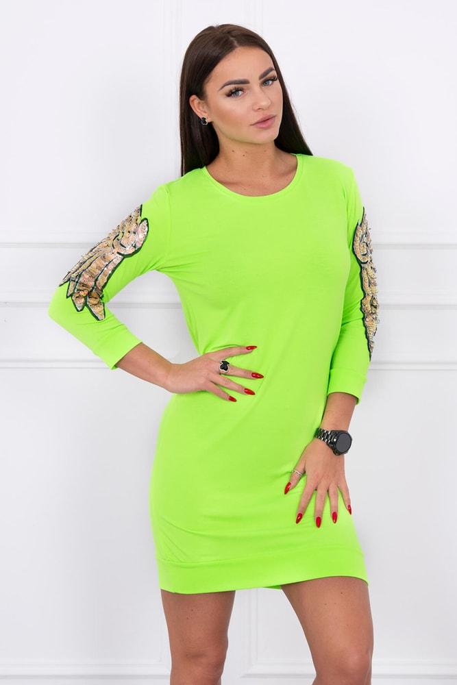 Neonkové šaty - S/M Kesi ks-sa2475nz