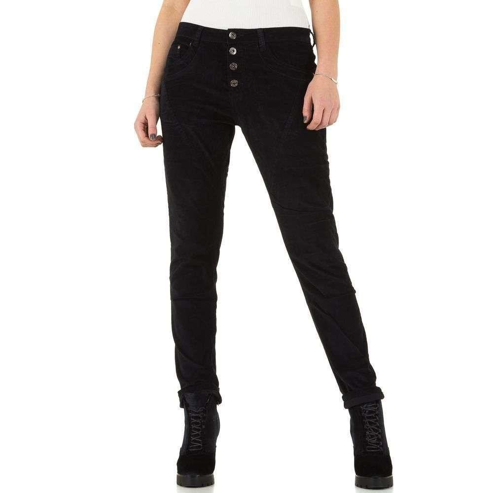 EU Černé dámské džíny