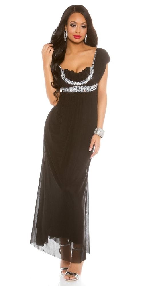 Spoločenské dámske šaty Koucla in-sat1486bl
