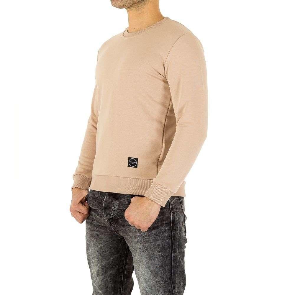Béžový pánsky sveter EU shp-tr1003cr