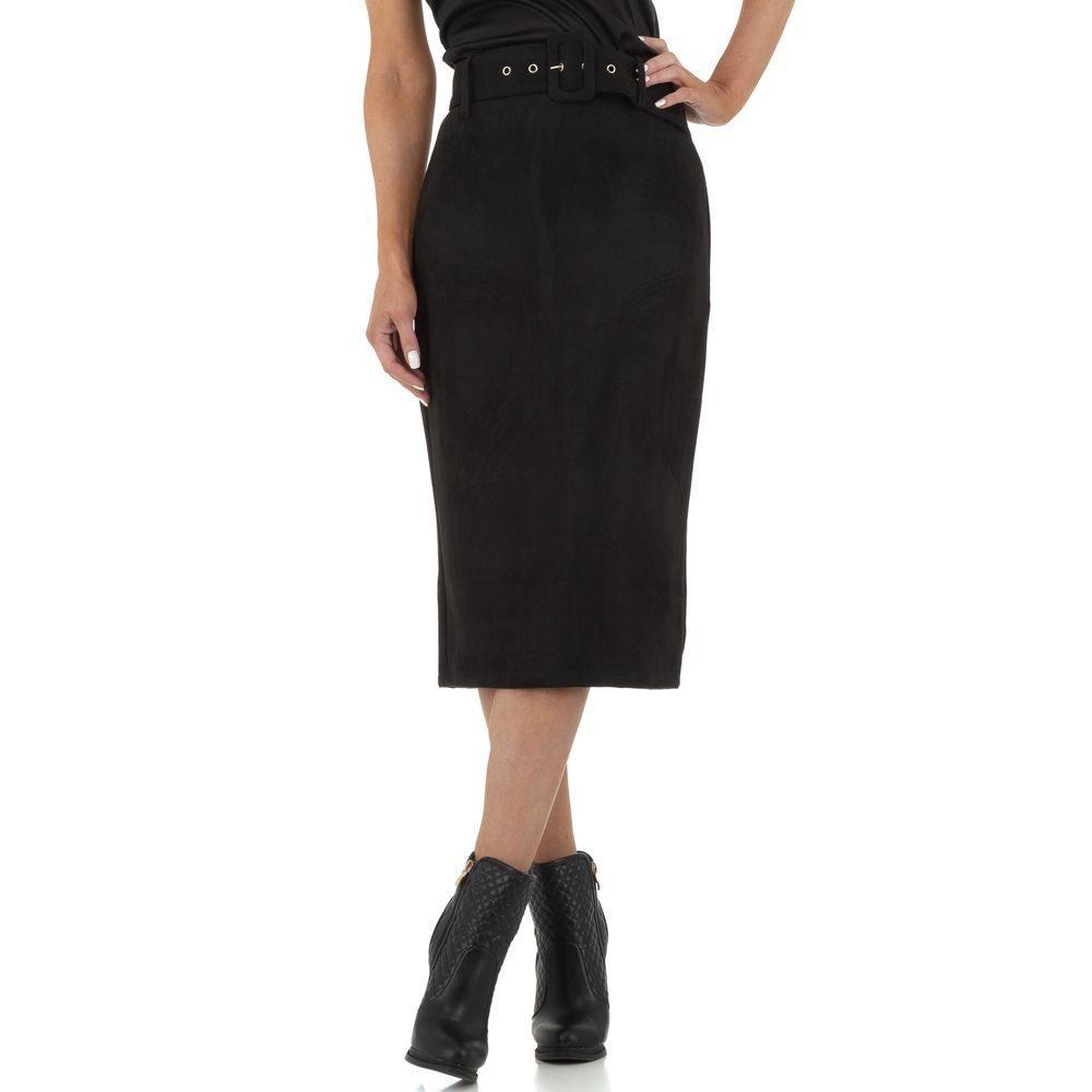 Dámska čierna sukňa EU shd-su1038bl
