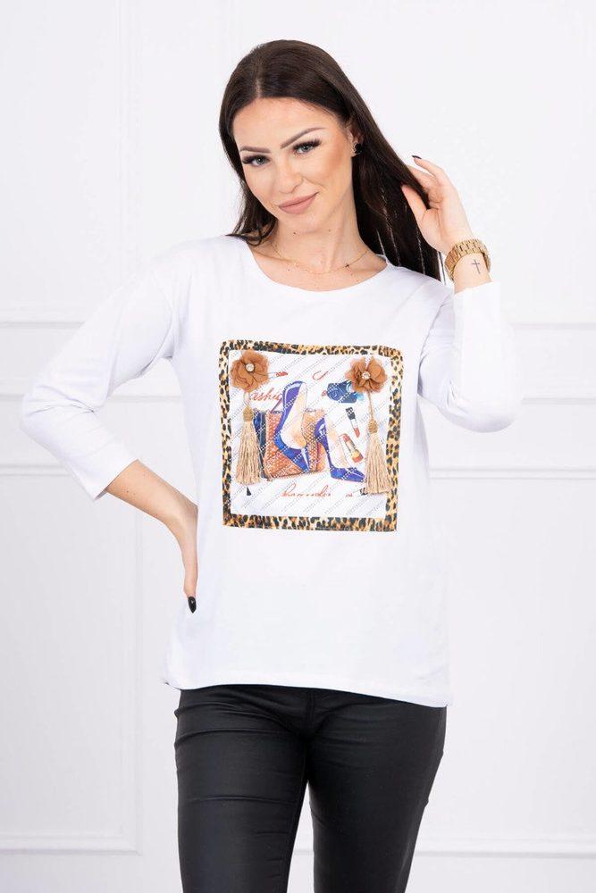 Dámské tričko - Uni Kesi ks-tr66792wh