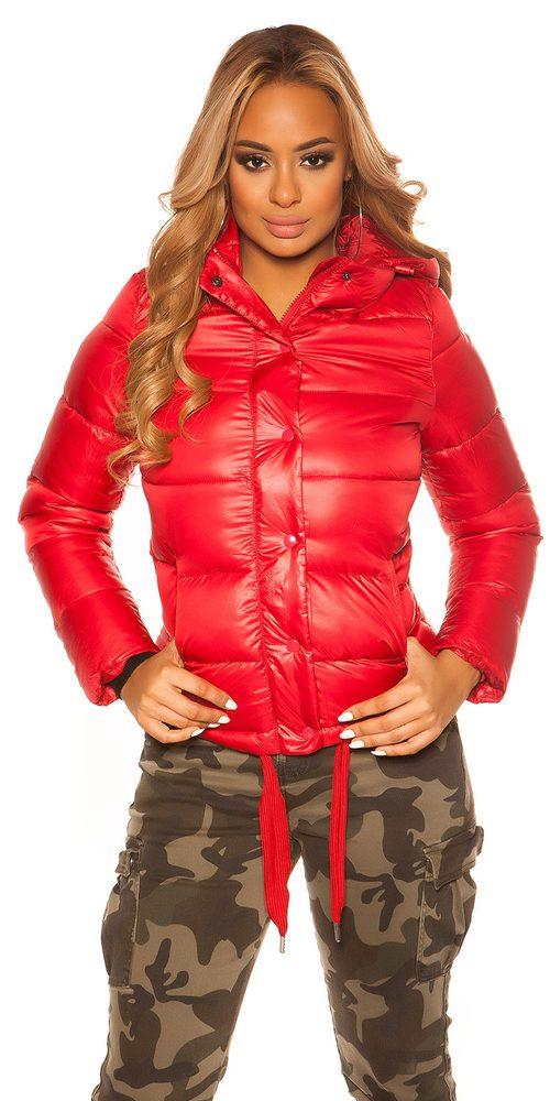 Dámska zimná bunda s kapucňou - XL Koucla in-bu1039re