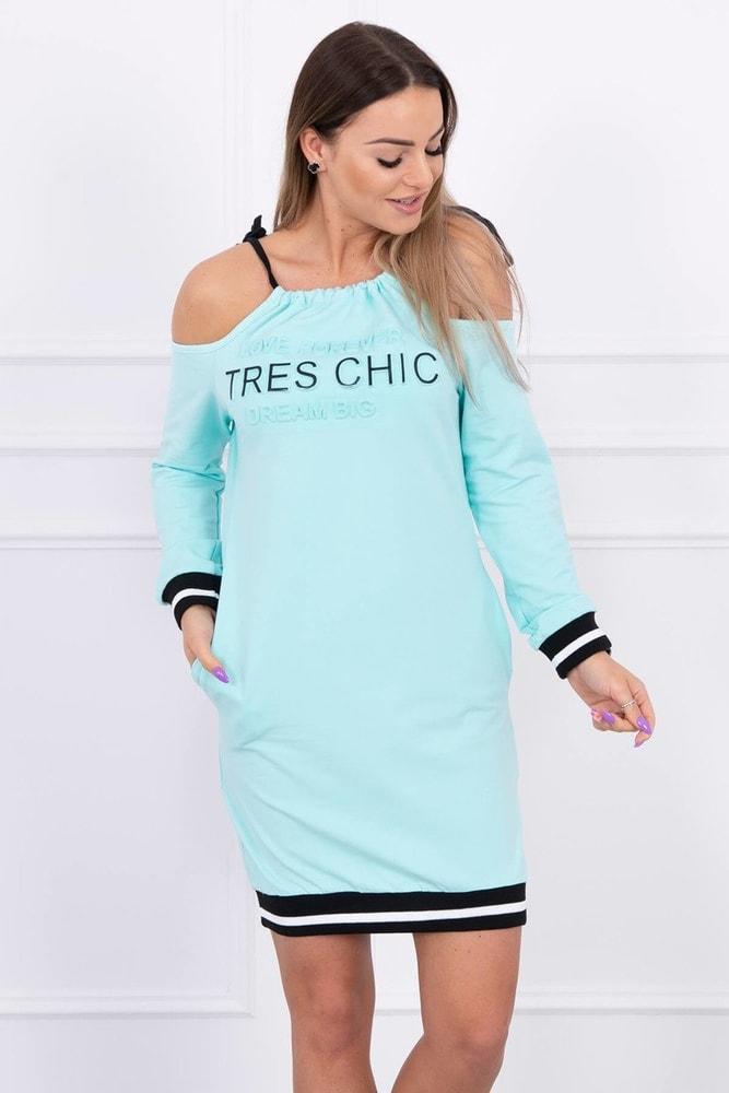 Sportovní dámské šaty ks-sa62182mi