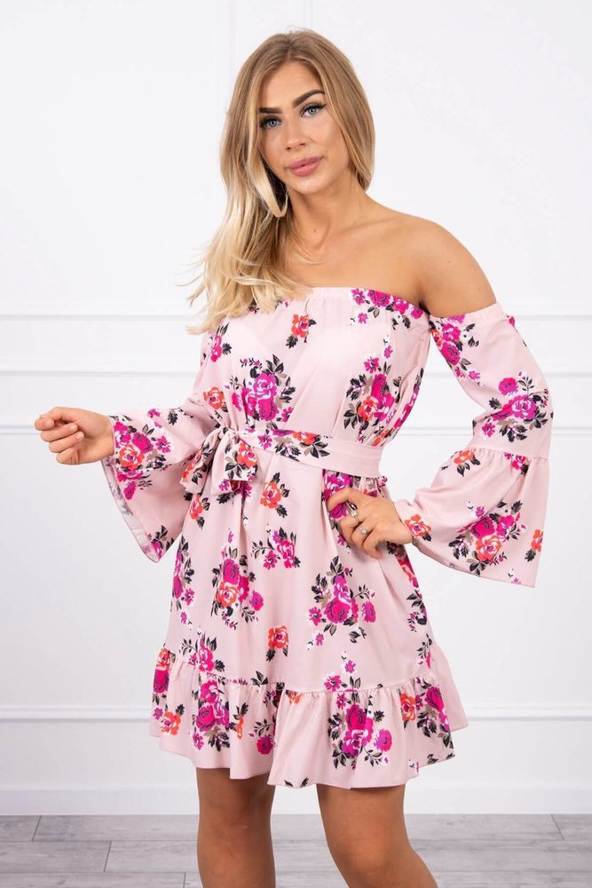 Romantické letní šaty Kesi ks-sa9268spi