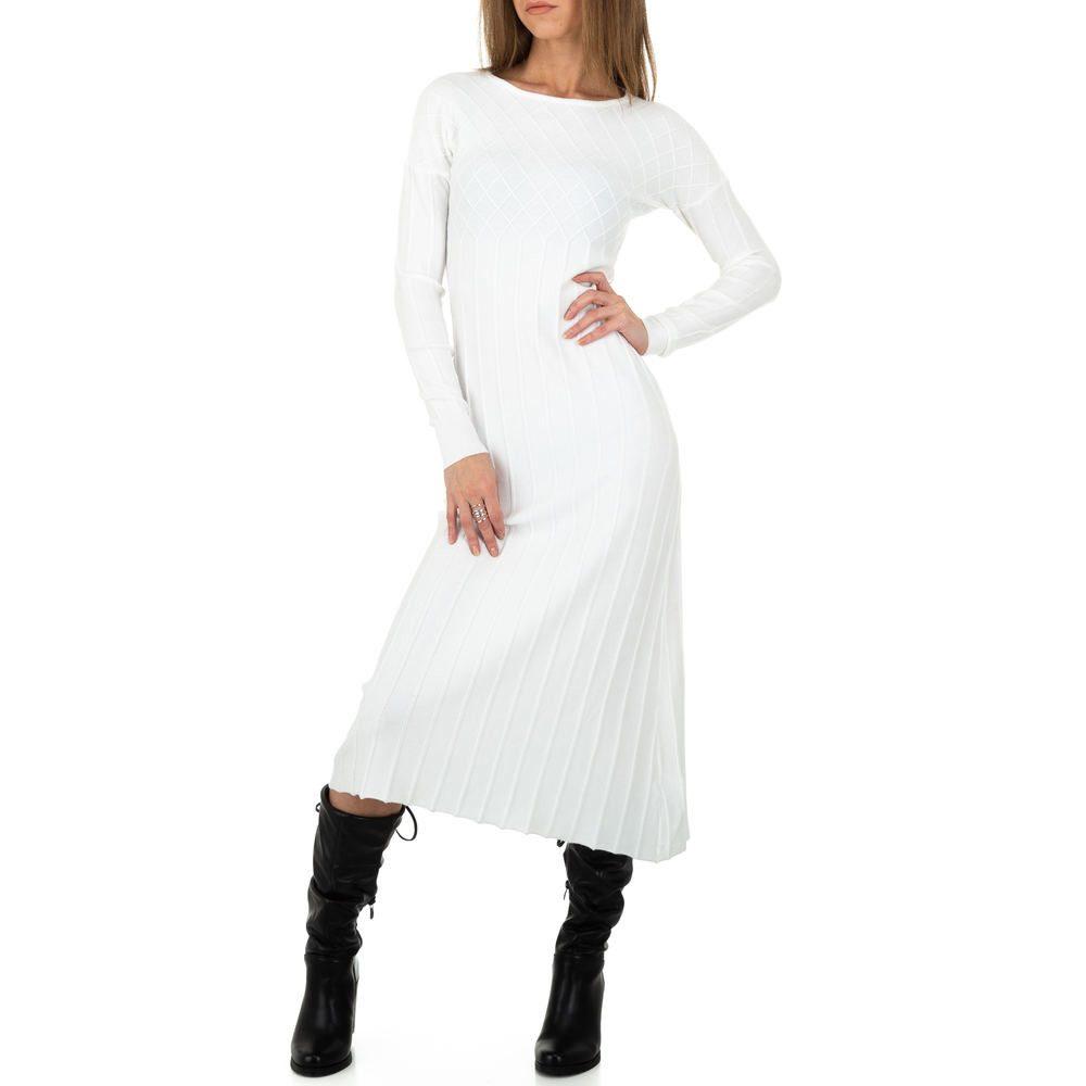 Dlouhé pletené šaty - S/M EU shd-sat1250wh