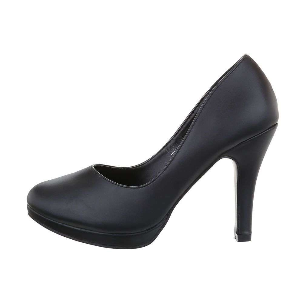 Čierne dámske lodičky - 39 EU shd-olo1145bl