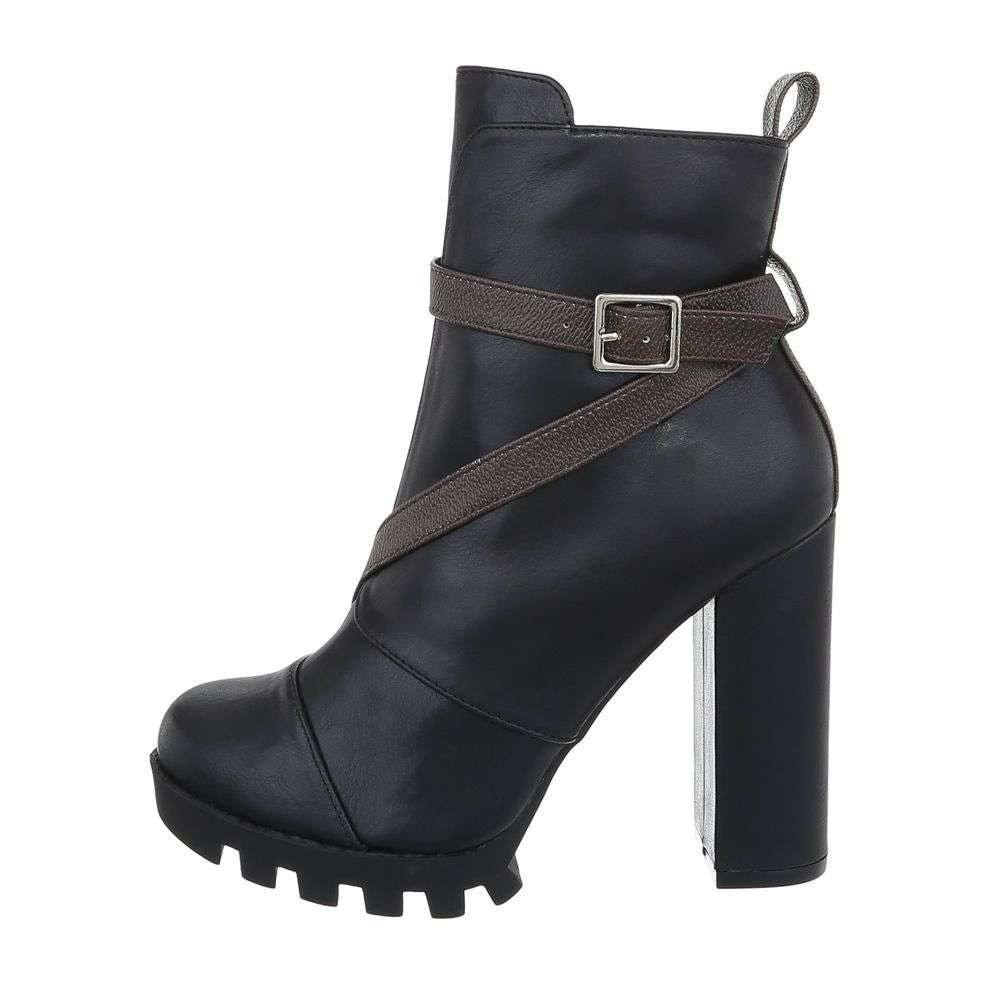 Kotníková dámská obuv - 39 EU shd-okk1278bl