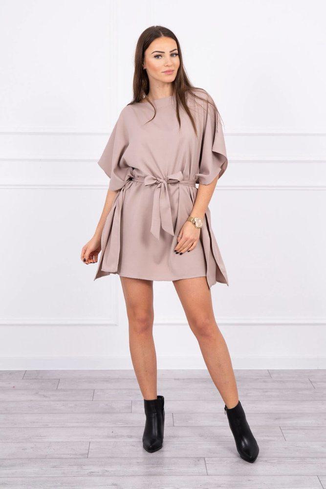 Mini šaty s kimono rukávy Kesi ks-sa9016be