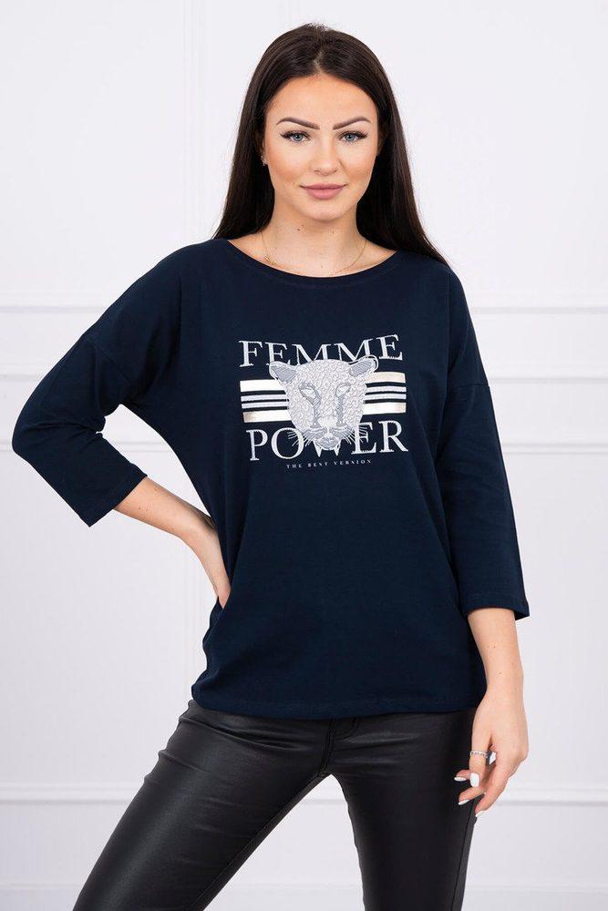 Dámské tričko s potiskem - L/XL Kesi ks-tr0120tm