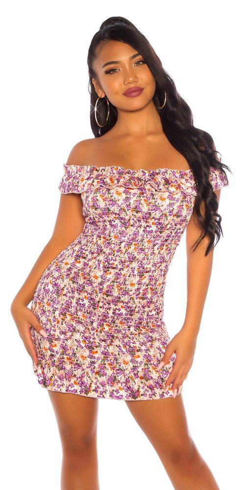 Letní mini šaty Koucla in-sat2226li