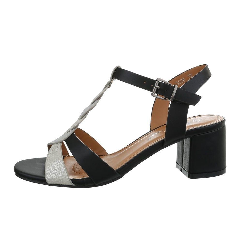 Dámske sandále na podpätku - 38 EU shd-osa1346bl