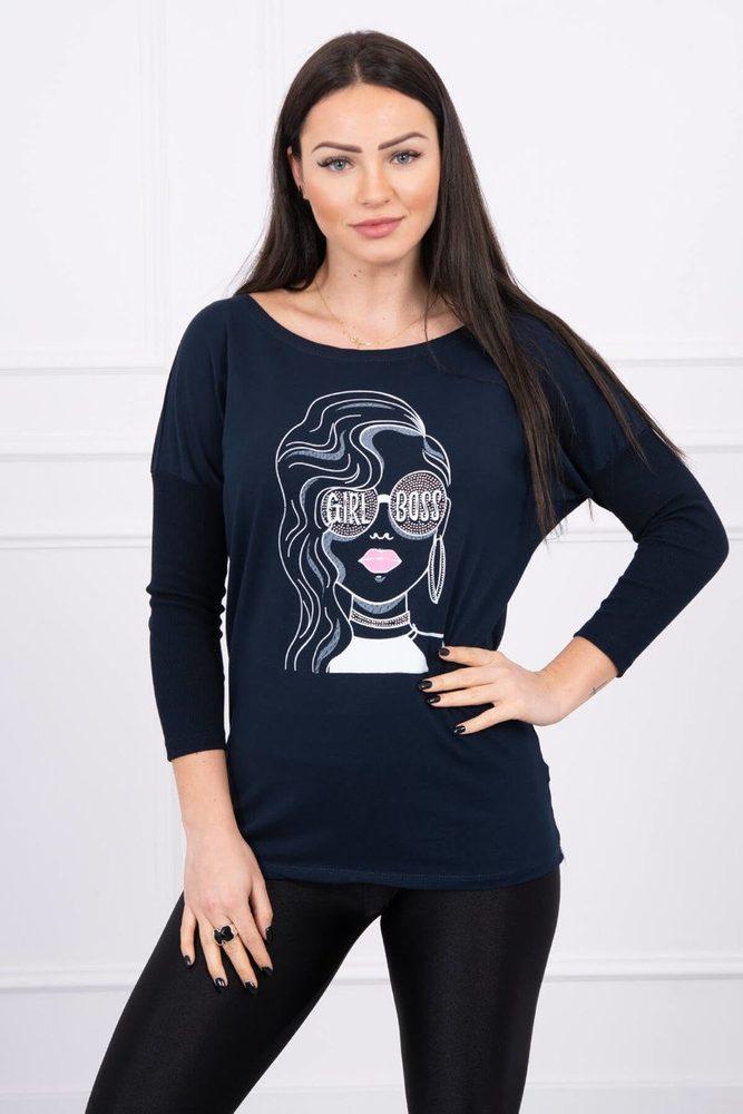 Dámské tričko s potiskem - L/XL Kesi ks-tr0064tm