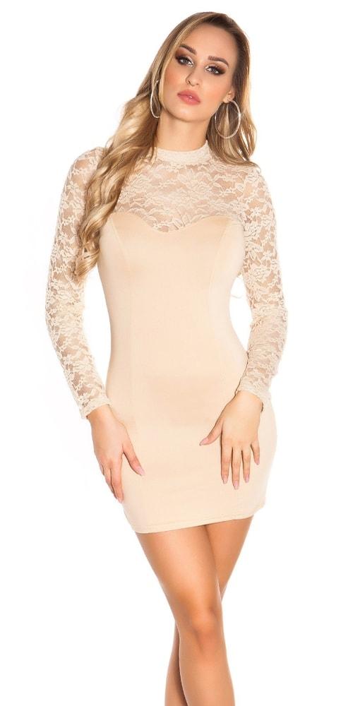 Čipkované spoločenské šaty Koucla in-sat1138be