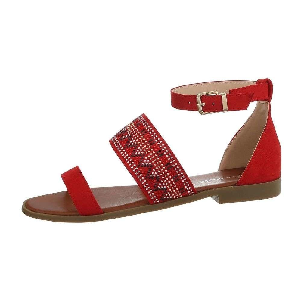 Červené letné sandálky - 40 EU shd-osa1301re