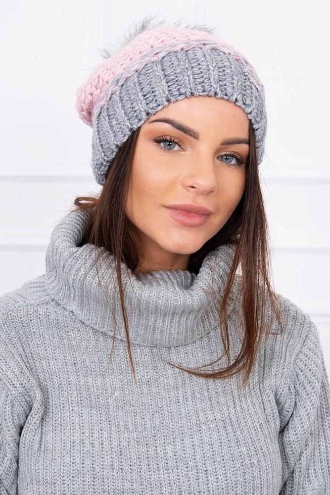 Zimná dámska čiapka Kesi ks-ceK114spi