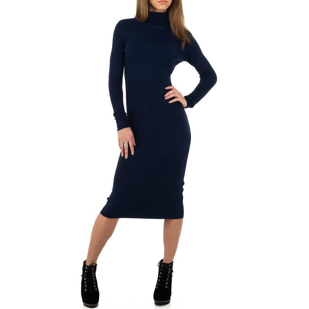 Úpletové šaty s rolákem - S/M EU shd-sat1241tm