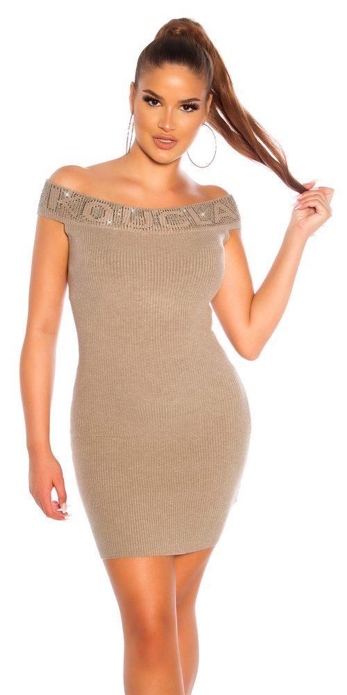 Úpletové mini šaty Koucla in-sat1981ca