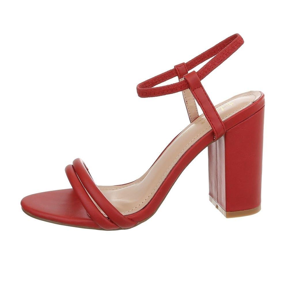 Dámske sandále na podpätku - 38 EU shd-osa1237re