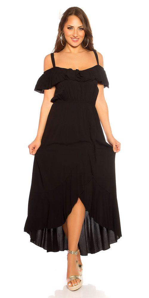 Letní dlouhé šaty Koucla in-sat2191bl